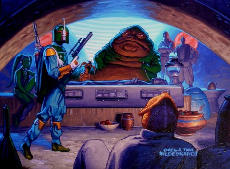 Art by Greg & Tim Hildebrandt for Twentieth Century Fox